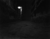FIGURE 2 Catacombe #13 2001/2. Archival pigment print on cotton rag from black-and-white pinhole negative. © Fiona Crisp.
